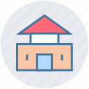building, chinese, home, house, property, real estate icon