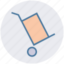box, cargo, cargo cart, delivery, package, shipping icon