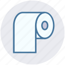 cleaning paper, hygiene, paper roll, tissue, tissue paper, tissue roll, toilet paper icon