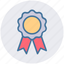 award, award ribbon, badge, first place, reward, ribbon, win icon