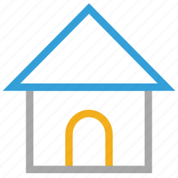 house, real, shack, villa icon