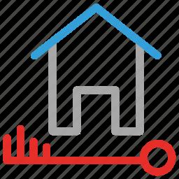 house keys, keys, property, real estate icon