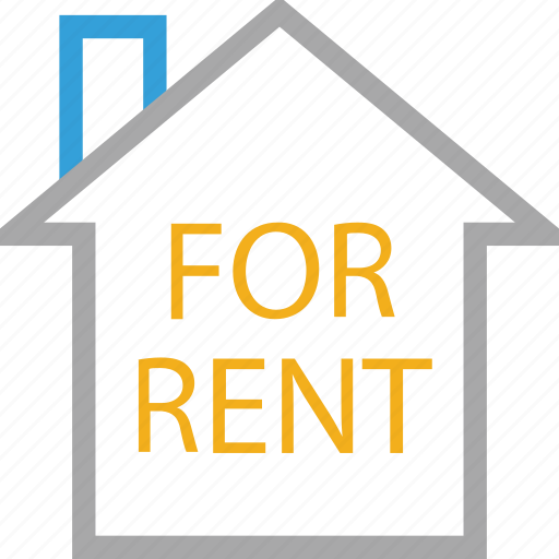 for rent, house for rent, information, real estate icon