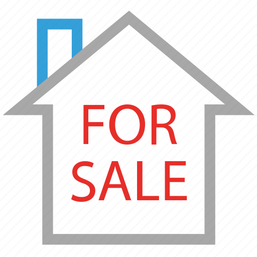 for sale, house for sale, information, real estate icon