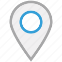 gps, location pin, locator, pin icon