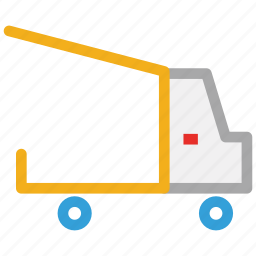 delivery, delivery truck, transport, truck icon