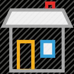 house, real estate, shack, villa icon