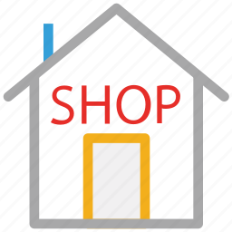 buy, real estate, shop, store icon