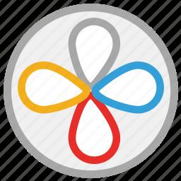 electric ventilator, turbine, ventilator, ventilator fan icon