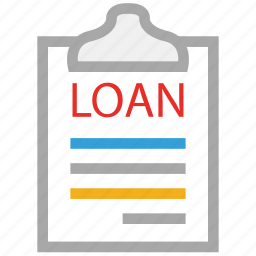 estate, loan documents, loan papers, real icon