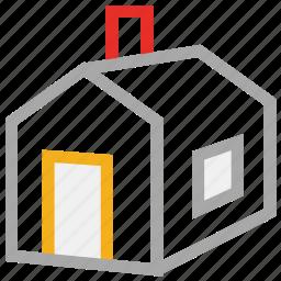 home, house, real estate, villa icon