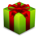 gift, box, christmas, present, x-mas