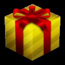 gift, box, christmas