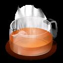 glass, teapot icon