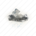 blowing, snow, winter, weather icon