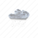 light, showers, of, ice, pellets icon