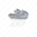 moderate, heavy, showers, ice, pellets icon