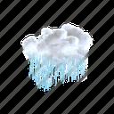 patchy, light, rain