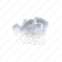 patchy, snow, nearby, weather, cloudy, cloud