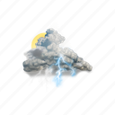thundery, outbreaks, in, nearby