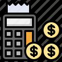 calculator, budget, business, finance, savings