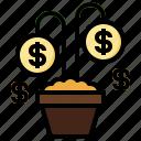 plant, debt, growth, dead, bills