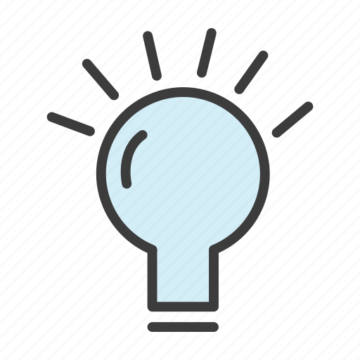 bulb, electricity, idea, power icon