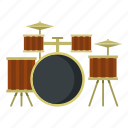 cymbal, drum, kit, music, musical, percussion, rock icon