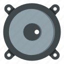 bass, electronic, equipment, loud, loudspeaker, music, sound icon