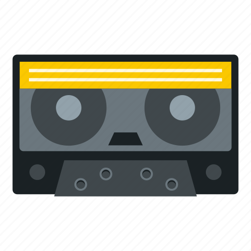 audio, casette, cassette, music, retro, stereo, tape icon