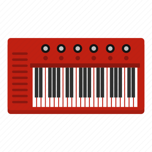 Instrument, key, keyboard, music, musical, piano, synthesizer icon - Download on Iconfinder