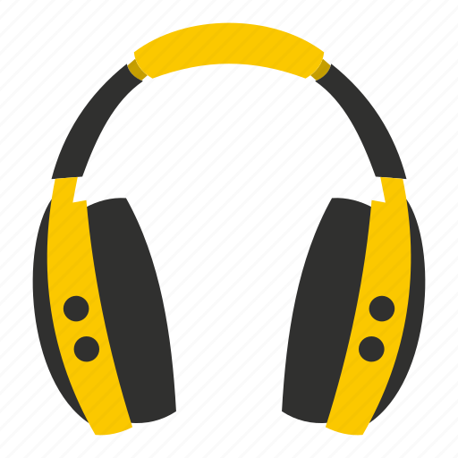 headphone, modern, music, sound, stereo, technology, volume icon