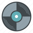 audio, disco, music, record, retro, sound, vinyl icon