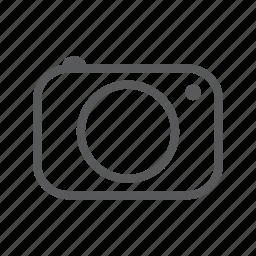camera, photograph, photography icon