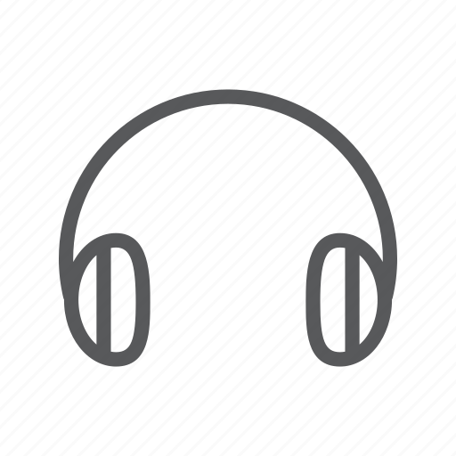 earphones, headphones, listening, music icon