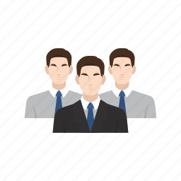 business, business man, employee, employer, job, recruitment, team work icon