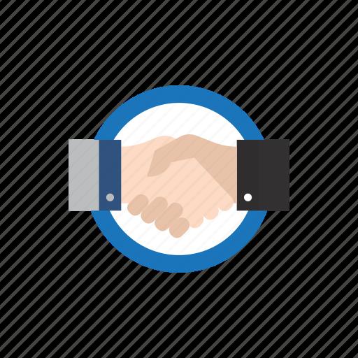 agreement, business, employee, handshake, job, recruitment, work icon