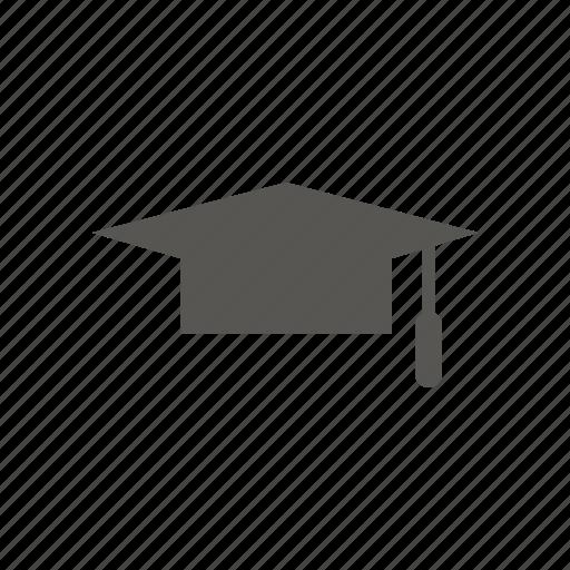 cap, graduation, graduation cap, student icon