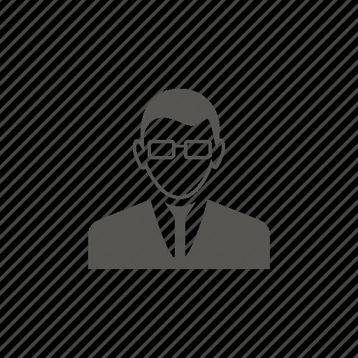 avatar, employee, man, worker icon
