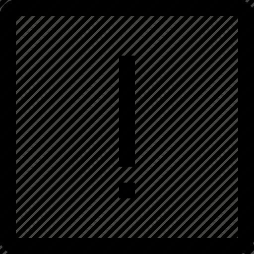 check, line, mark, shape, square icon
