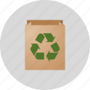 bag, business, commerce, conservation, ecology, environment, green, market, packaging, recycle, recycling
