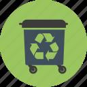 bin, delete, recycle, remove, trash, waste