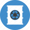 barrel, conservation, ecology, environment, green, oil, recycle, recycling icon