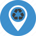 conservation, ecology, environment, green, marker, packaging, pin, pointer, recycle, recycling