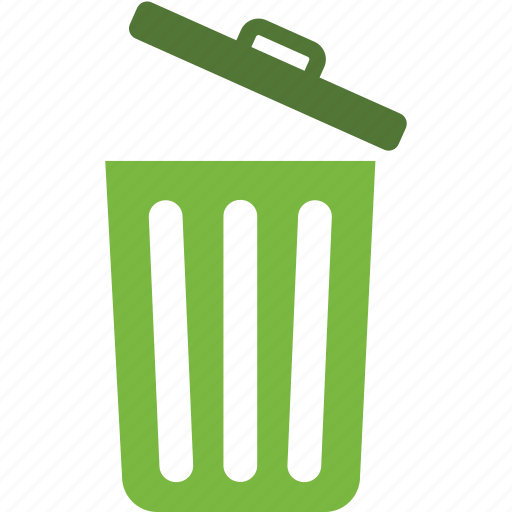 bin, delete, recycle, remove, trash, waste icon