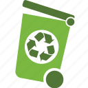 bin, delete, ecology, environment, recycle, remove, trash, waste icon