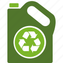 bottle, conservation, ecology, environment, green, plastic, recycle, recycling, water icon