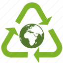 conservation, earth, ecology, environment, globe, green, packaging, recycle, recycling icon