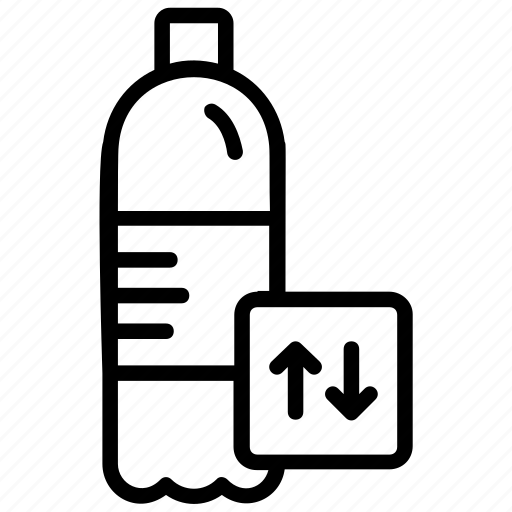 pet bottles, plastic bottle, recycle bottle, recycling, recycling plastic icon