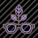 eco, recycling, sunglasses